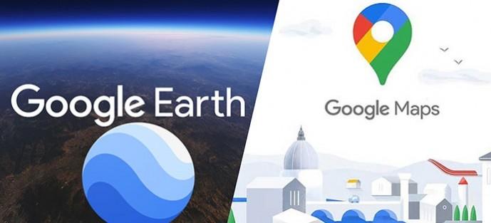 Google Earth ile Google Maps Arasındaki Fark ve Benzerlikler